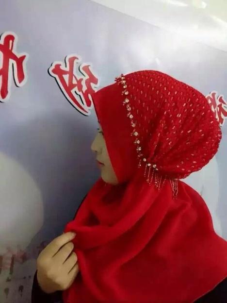 纱巾舞蹈共园中国梦