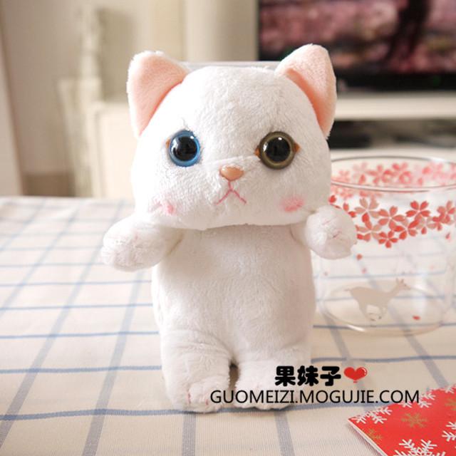 韩国毛绒猫咪苹果手机壳