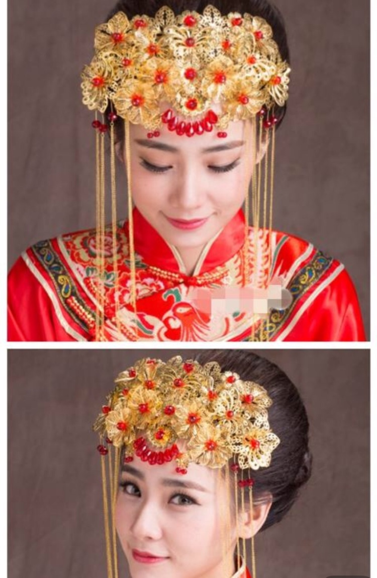 新娘发型禾服分享展示