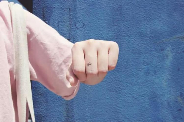 情侣款简单纹身图片展示