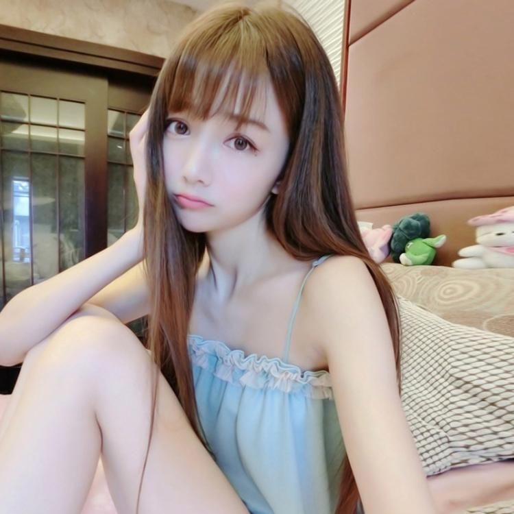 韩范空气刘海假发女长直发全头套图片