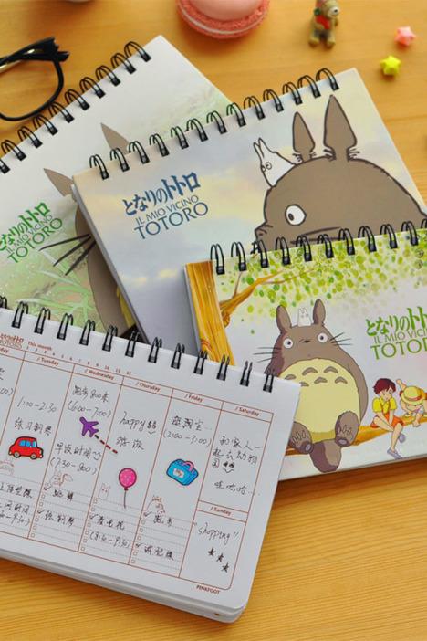 可爱龙猫日程规划记账本