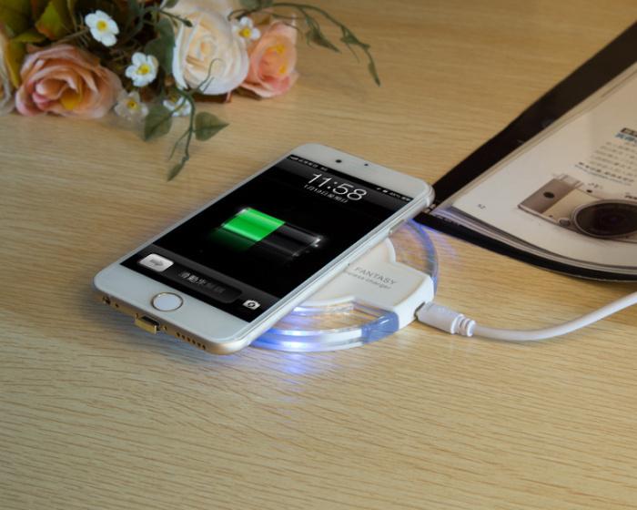 无线充电器苹果安卓小米iphone6s华为手机通用无线充