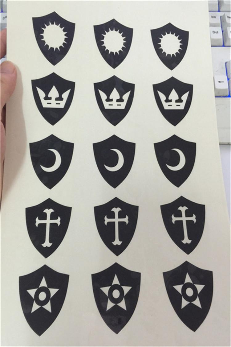 【萌学园纹身贴奈亚公主蜜诺娃萌骑士团贴纸五星魔法