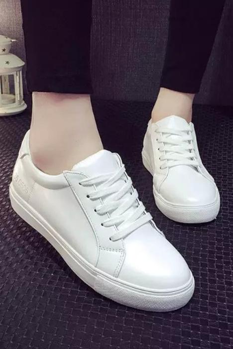 【明星杨幂同款休闲小白鞋】-鞋子-运动户外_跑步鞋()图片