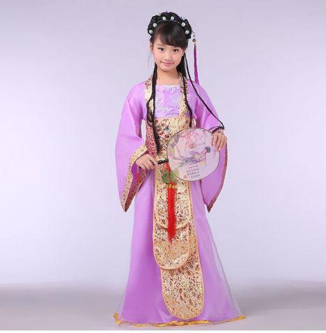 【儿童汉服公主裙影楼写真贵妃服装】-无类目-儿童服