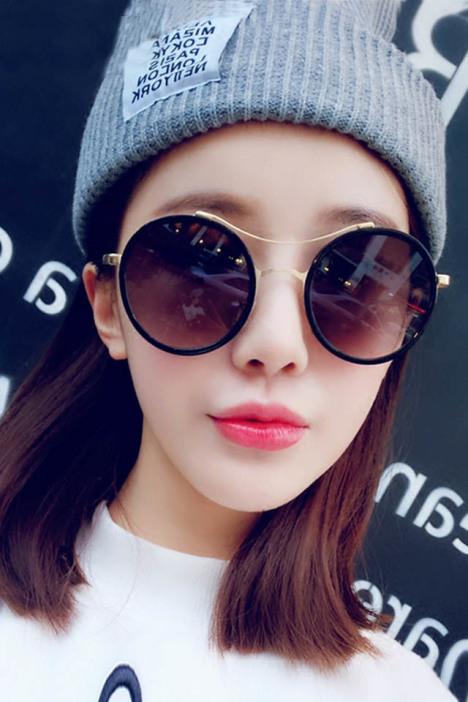 太阳镜,眼镜,墨镜,复古,韩国