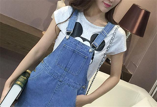 【(梦幻如衣)青春牛仔背带裙】-衣服-裙子_连衣裙_鞋