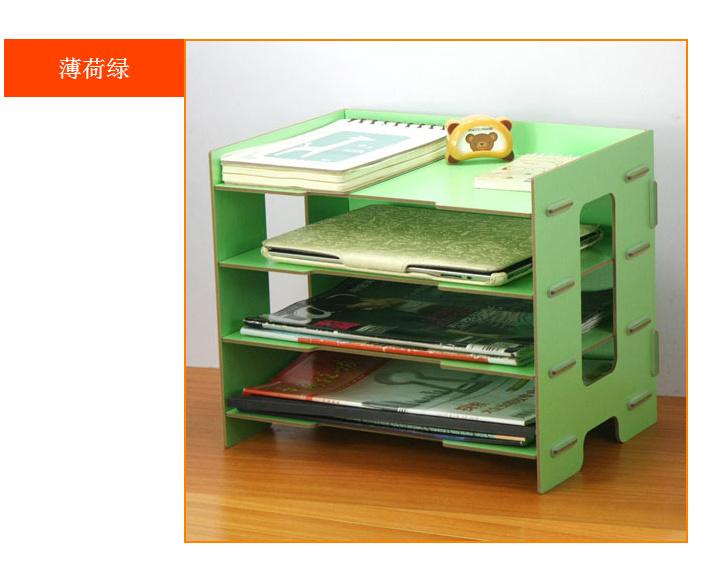 木质创意办公桌面文具收纳盒