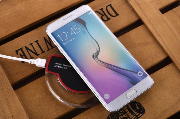 【无线充电器 苹果安卓小米iphone6s华为手机通用