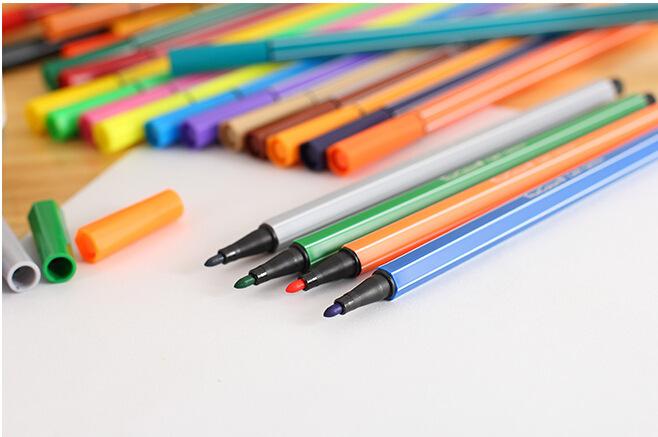 真彩2600a-18/24/36色桶装小学生水彩笔