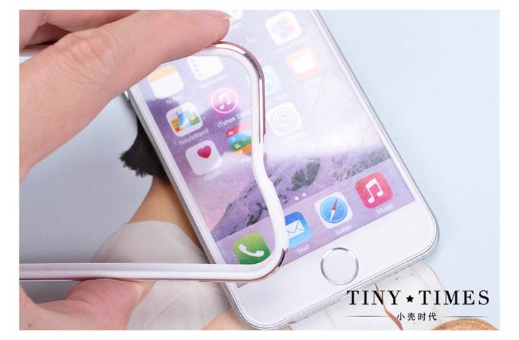 【玫瑰金 苹果iphone6金属边框】-配饰-3c数码配件