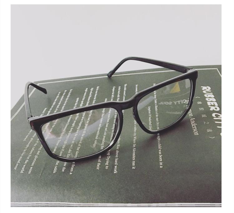 闹闹酱】日系复古文艺小清新韩版潮流情侣百搭眼镜框