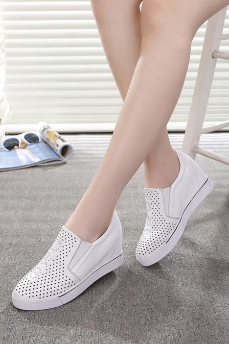 学生,平底,高跟鞋,内增高,鞋子