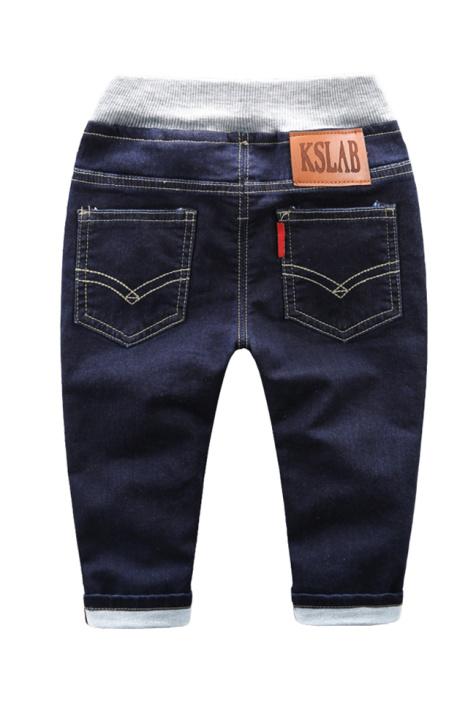 【qm】2016小童扣子牛仔裤