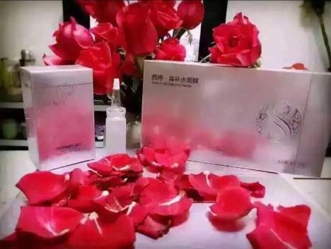鲜花礼盒放面膜包装步骤图