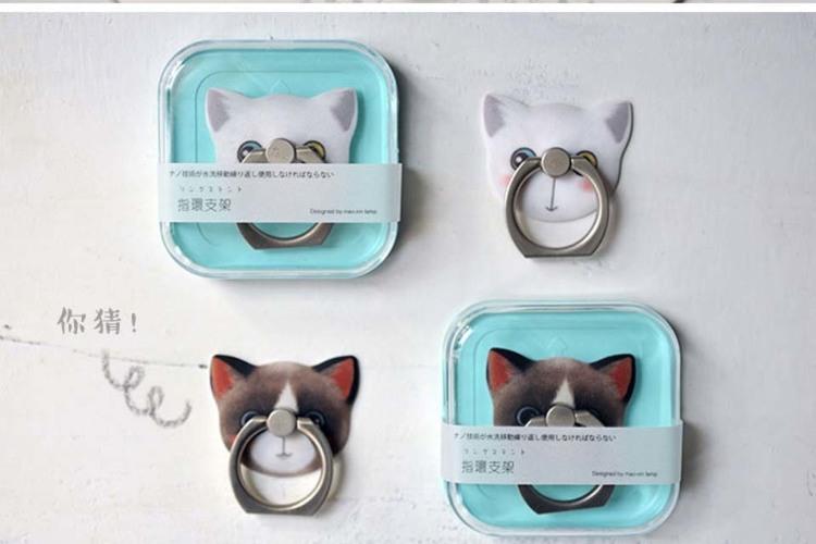 手机指环支架 韩国可爱创意懒人指环扣礼品