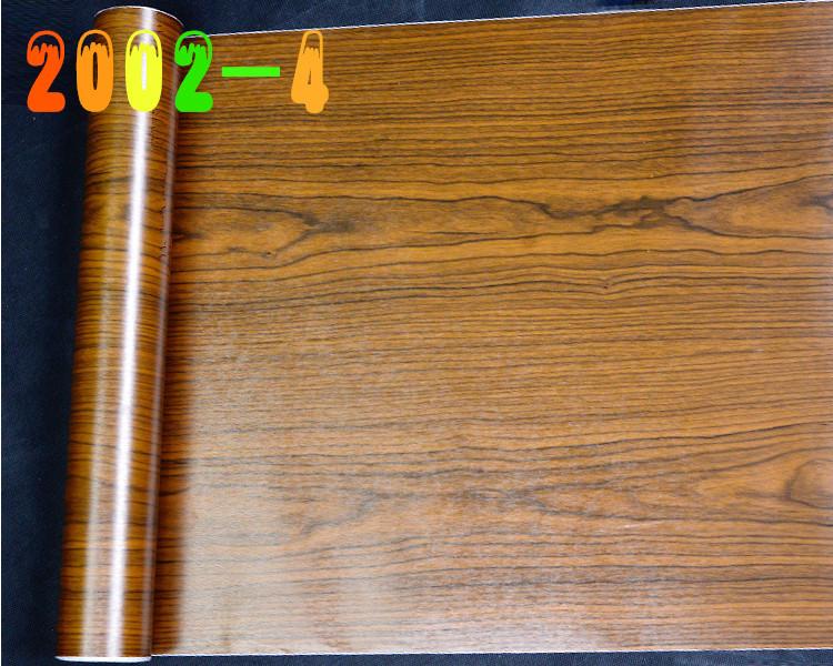 衣橱柜门衣柜家具翻新仿木加厚墙贴纸贴