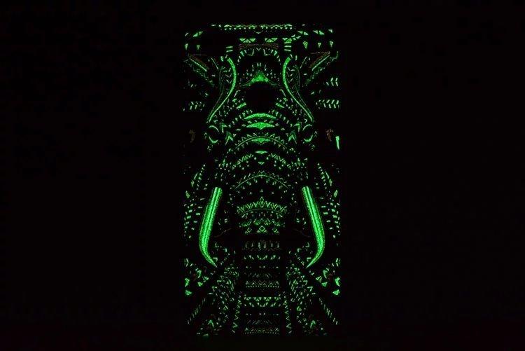 【步步高vivo x6手机壳x6plus森林之王夜光壳王者之