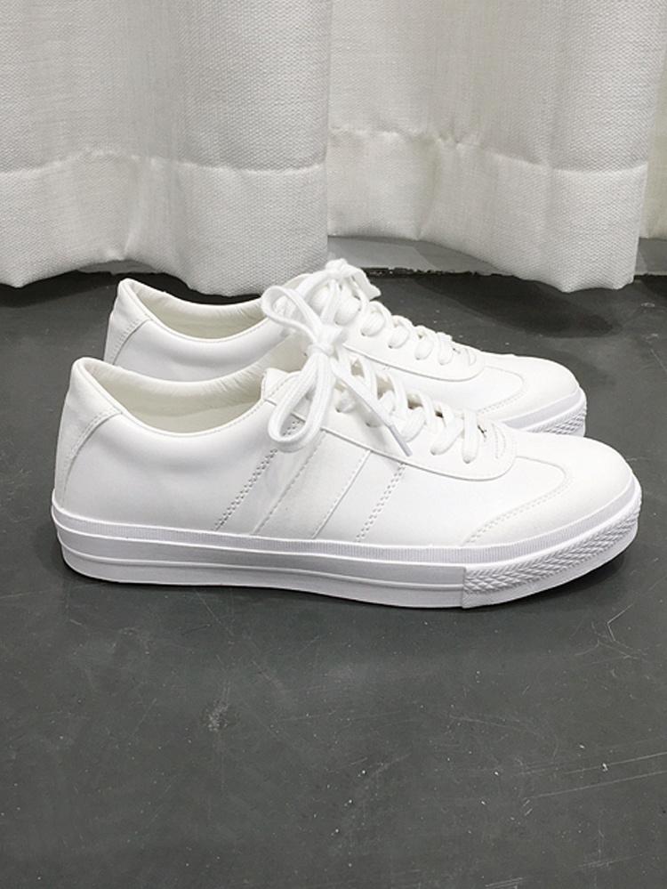韩国运动休闲小白鞋