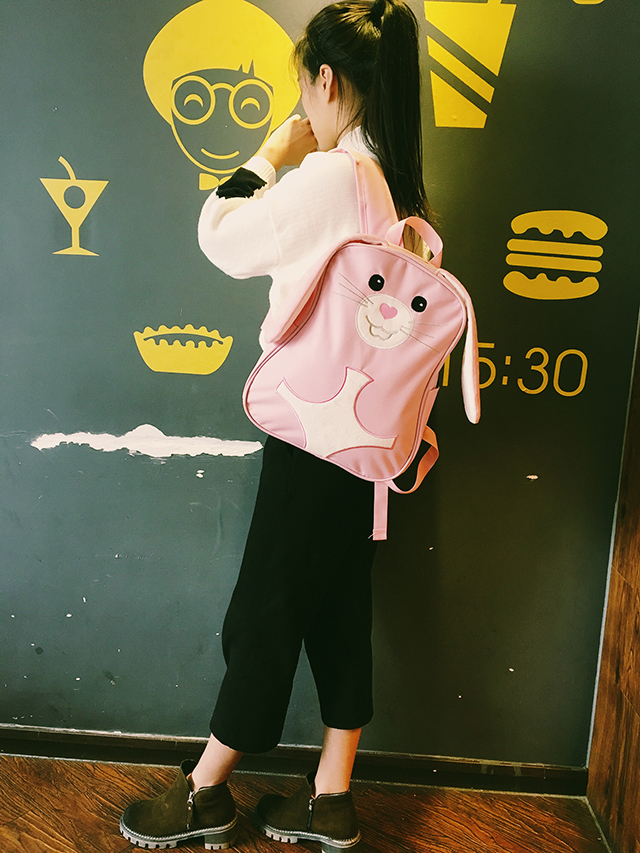 粉红原宿原宿少女抠图背景素材