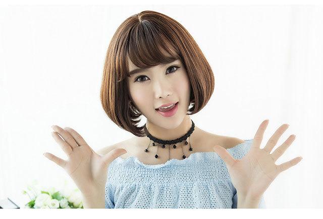 韩国短发美女时尚演绎 10款最图片