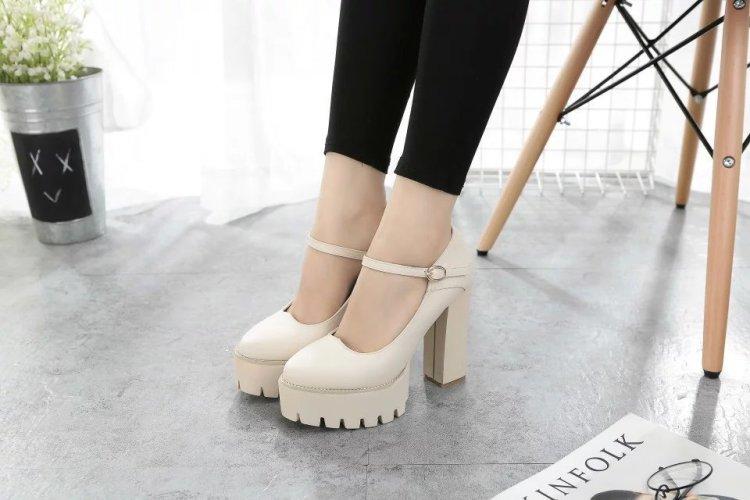 厘米细跟性感绒面流苏露趾包跟情趣夜店女鞋 16  恨天高凉鞋超高跟