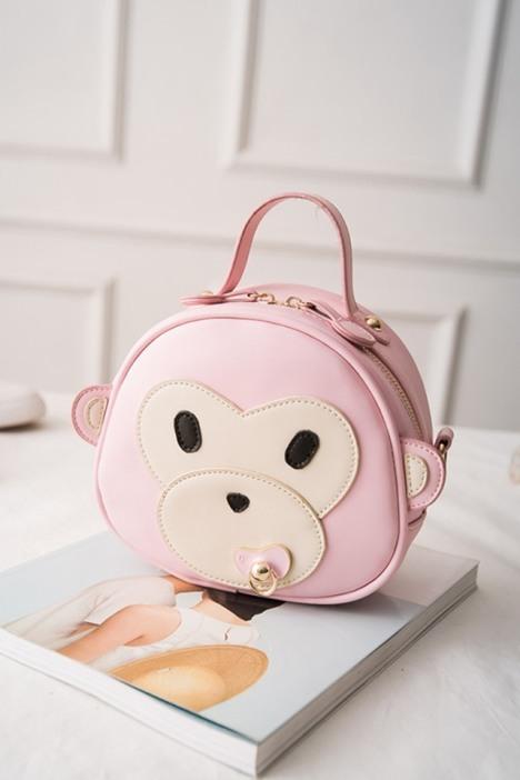 【卡通可爱小猴子单肩包】-包包-女包