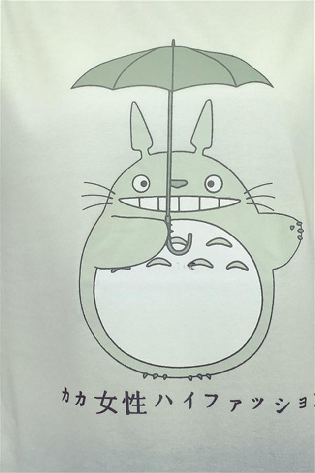 龙猫简笔画 手绘