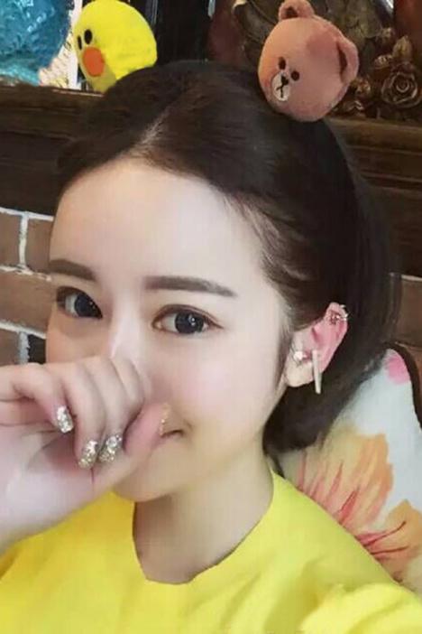 韩国卡通小熊小兔小黄鸭发卡 可爱卖萌必备发箍发圈