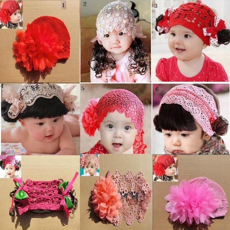 儿童发头饰 刘海卷发发带 美女娃娃发饰假发装饰 两件包邮