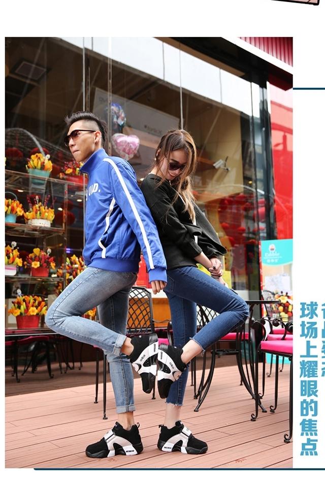 【热销二万双】欧美范情侣款运动鞋图片