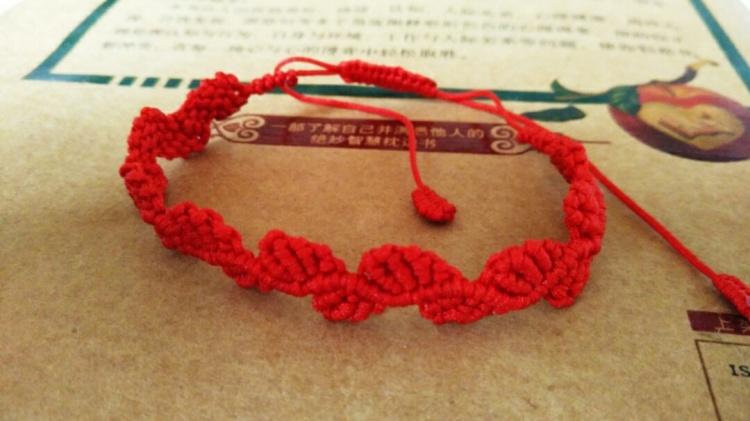 手工编绳(树叶)