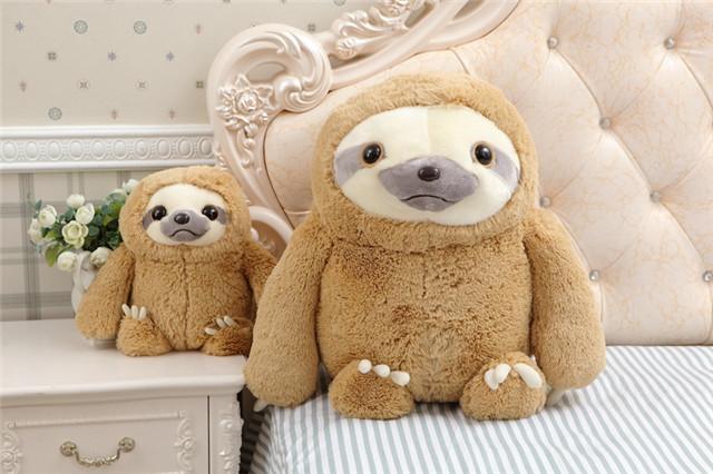 【树懒公仔毛绒玩具布娃娃抱枕疯狂动物城周边玩偶】