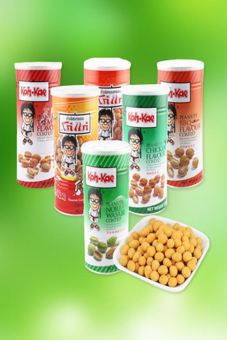 泰国进口 大哥花生豆大罐装 东南亚风味 大哥花生米230g