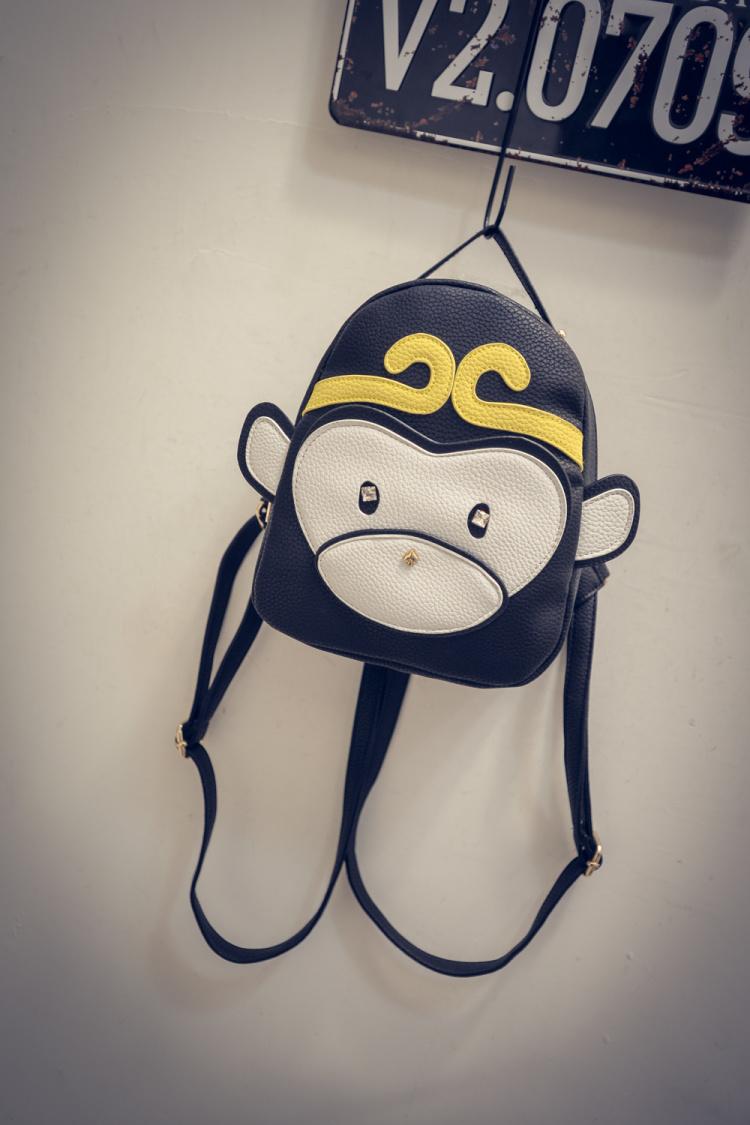 【潮包1号店&可爱小猴子卡通双肩包】-包包-双肩包