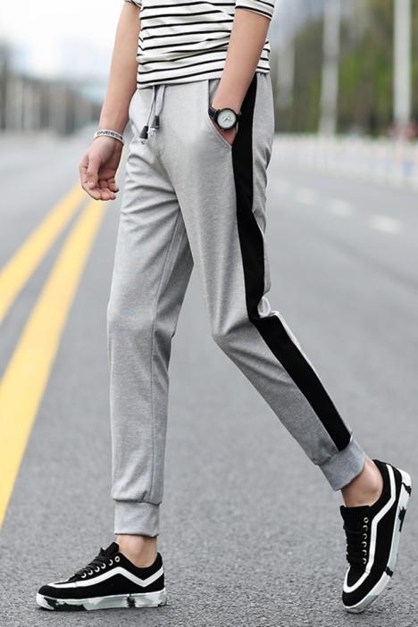2016夏季新款男士运动休闲裤】-男装-裤子