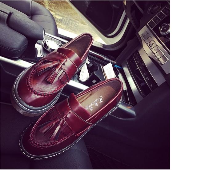 【秋冬新款英伦风复古小皮鞋】-鞋子-女鞋