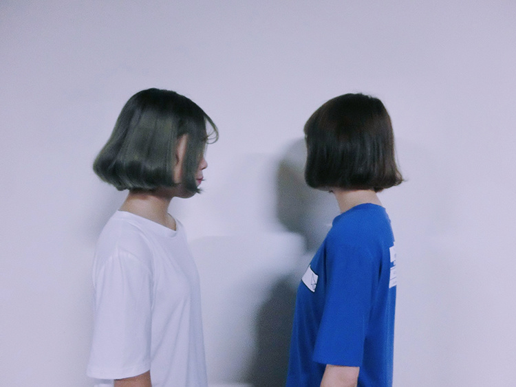 【夏季韓國原宿bf風電腦桌面右鍵t恤男女寬松短袖