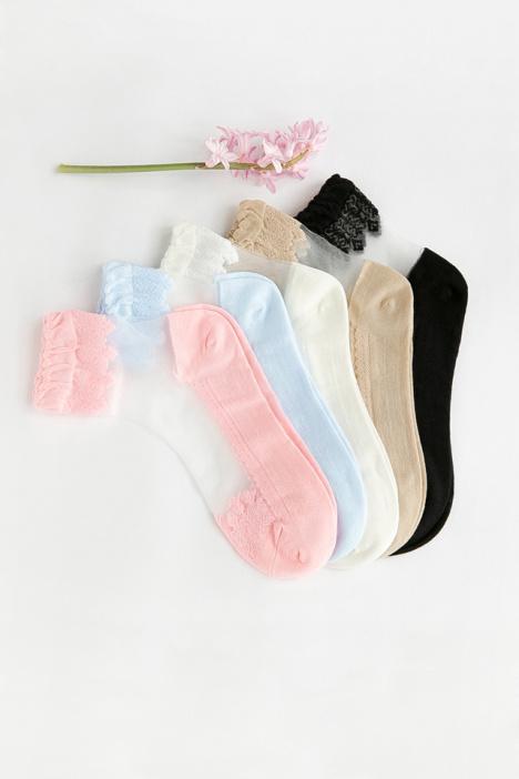 【日系蕾丝水晶玻璃丝袜袜子】-配饰-女士内衣/家居