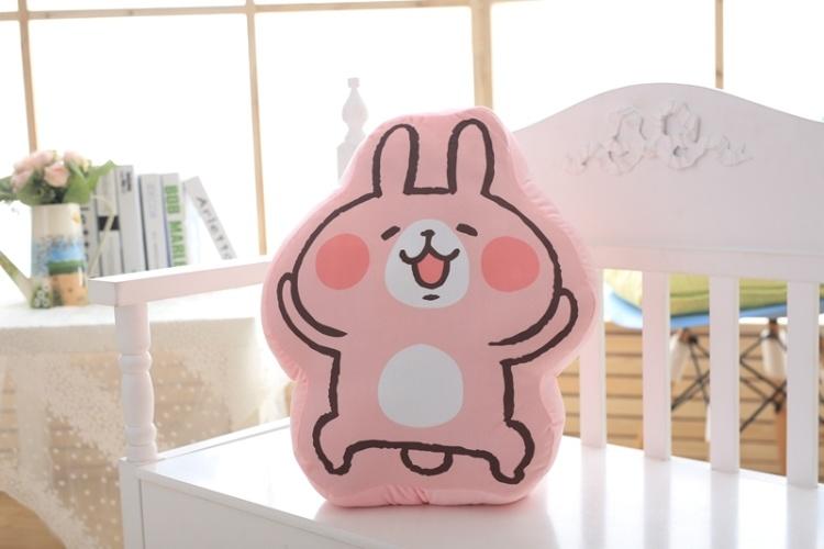 萌萌哒~可爱日本 kanahei卡娜赫拉兔抱枕