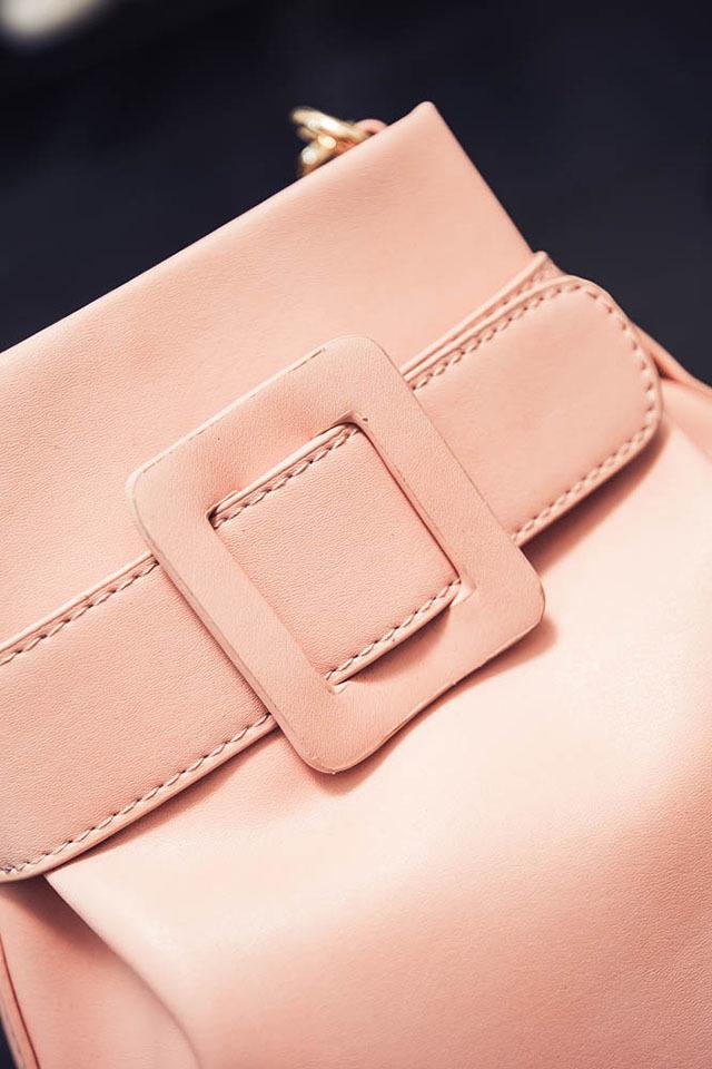 韩版腰带水桶包】-包包-女包