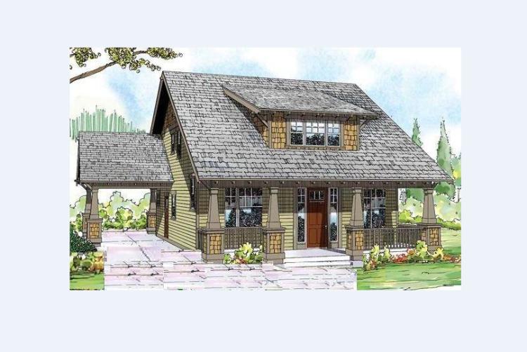 农村房屋设计图别墅设计图纸新农村一层半自建房设计