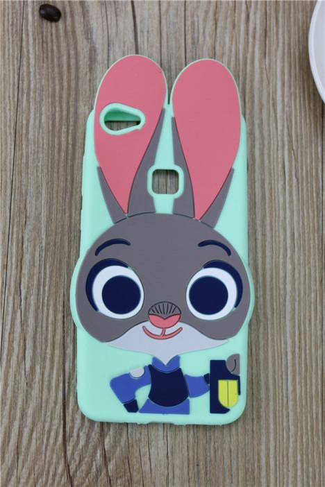 x6plus疯狂动物城朱迪兔硅胶手机壳