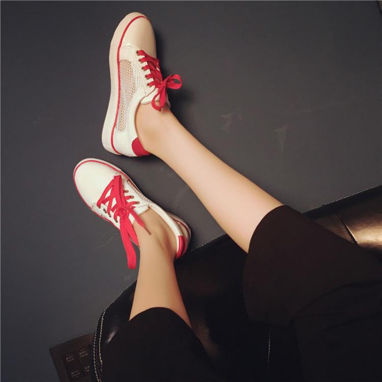 【夏季休闲运动板鞋(送白色鞋带)】-鞋子-女鞋