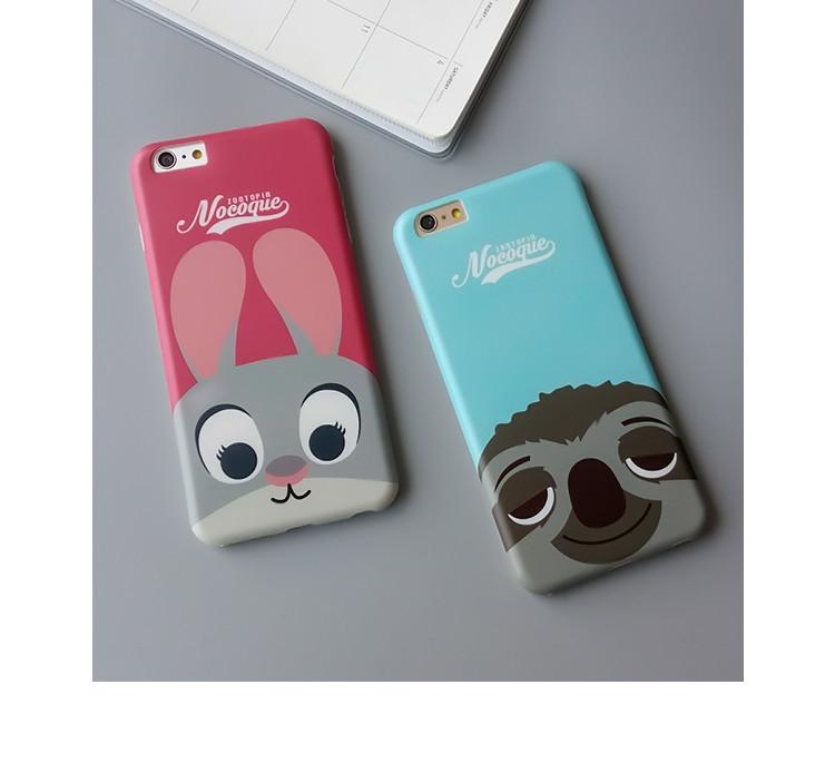 【疯狂动物城手机壳】-配饰-3c数码配件