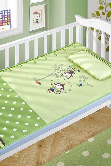 婴儿凉席儿童凉席新生儿夏季冰丝幼儿园席子