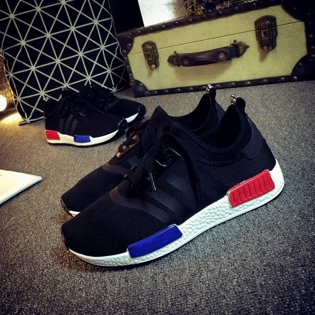 【【范冰冰同款】原宿nmd网面透气跑步运动鞋】-鞋子