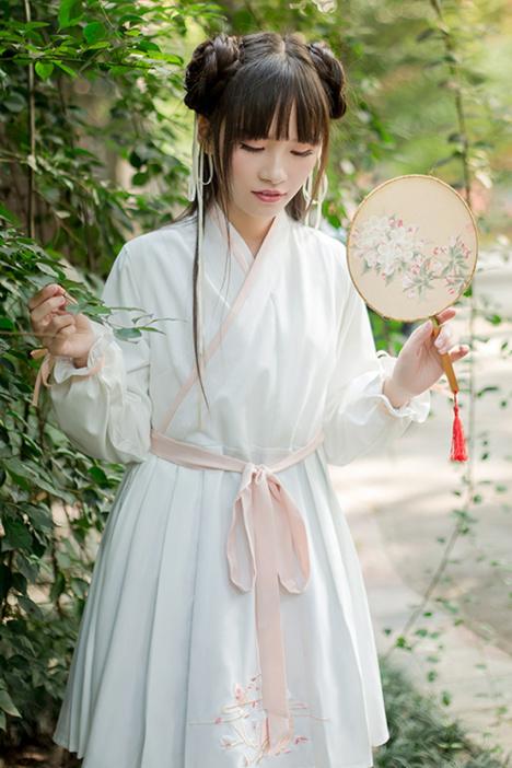 復古中國風女生頭像