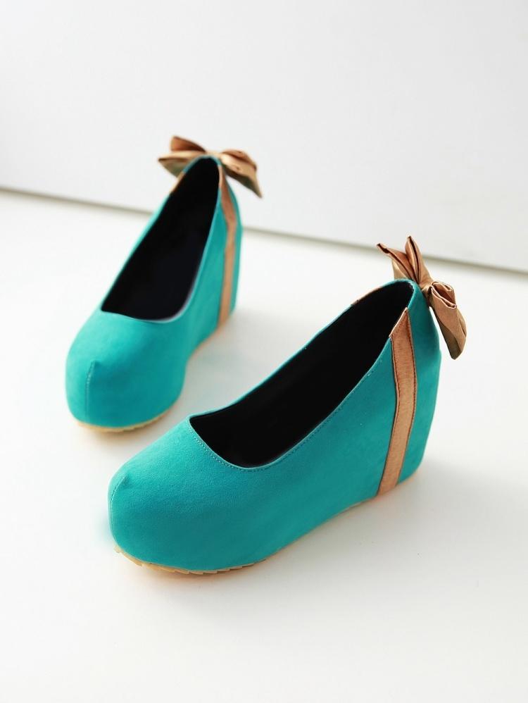 可爱娃娃厚底单鞋